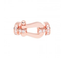 Manille Fred Force 10 en or rose semi pavé diamants blancs - 0B0030