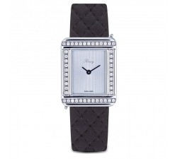 Montre Poiray - Ma Première - Acier et Diamants - 41901