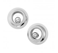 Boucles d'oreilles Chopard - Happy Diamonds - 832904-1001