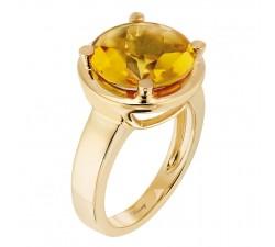 Bague Poiray - Filles Cabochon - Or jaune - 441050