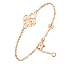 Bracelet Poiray - Coeur Entrelacé - Or jaune - 628500