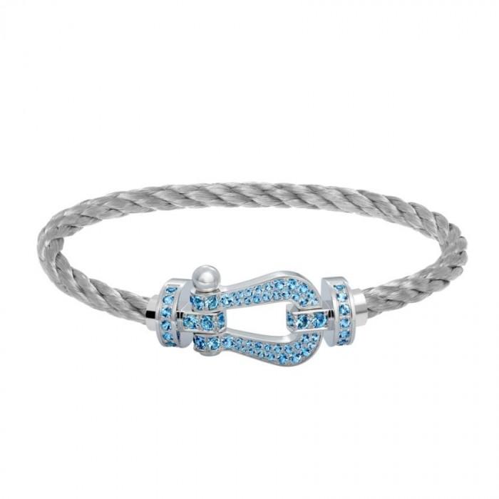 tout neuf d3afc 3955e Bracelet Fred Force 10 or gris - joaillerie JO'S