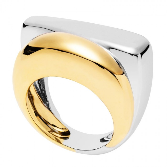 bague or jaune fred