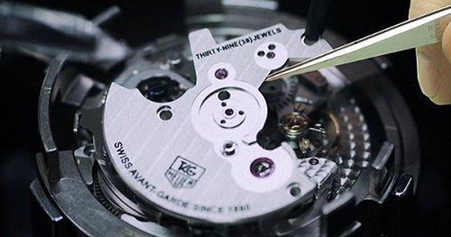 Réparation d'une montre joaillerie JO'S