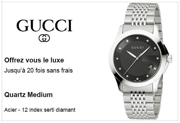 Pub Montre Gucci