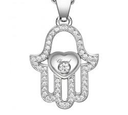 Pendentif Khamsa Chopard Happy Diamonds Good Luck Charms 797864-1003