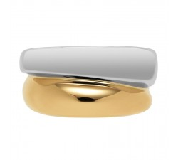 Ring Fred SUCCESS medium model - yellow and white gold - 4B0171